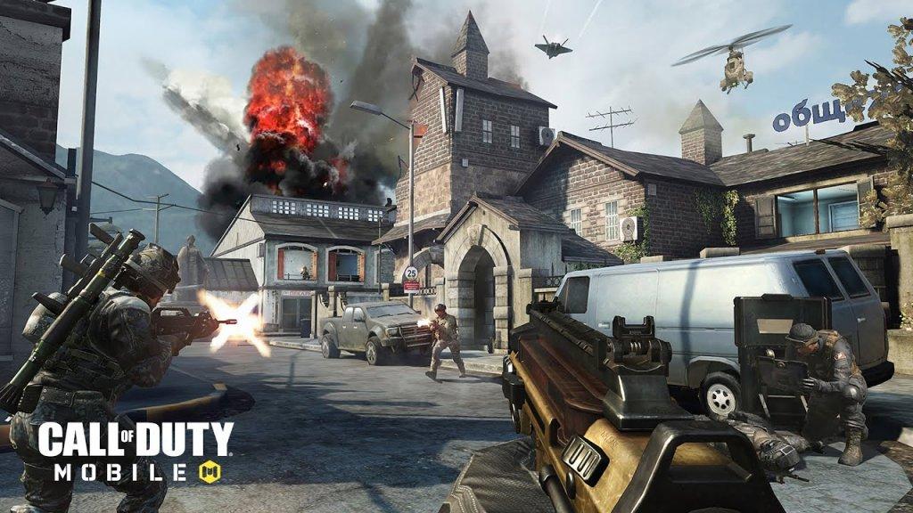 Melhores Jogos de Tiro Para Android - Call of Duty
