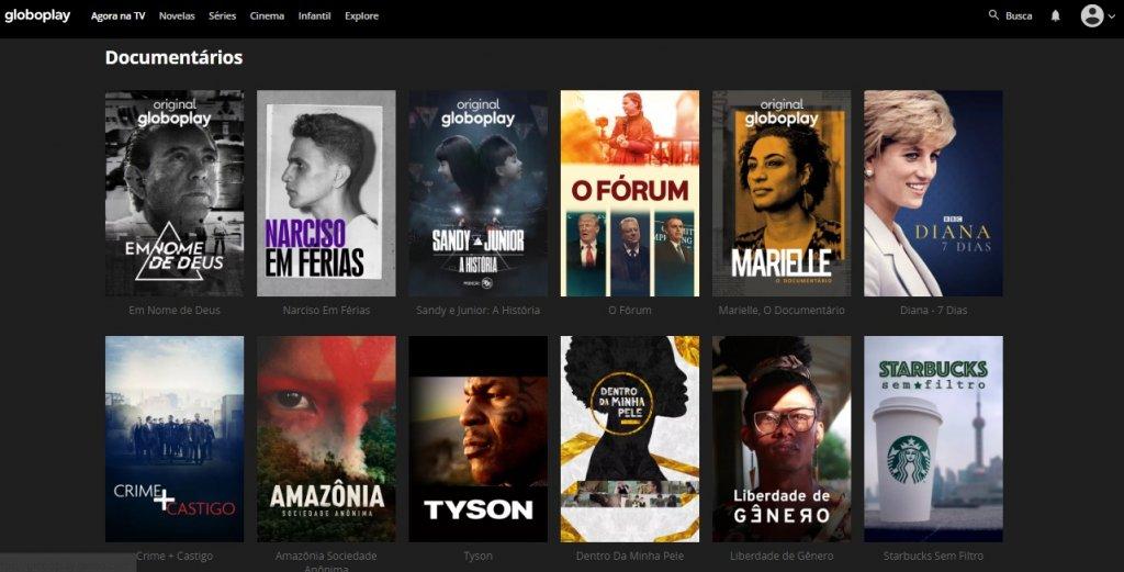 Documentários GloboPlay