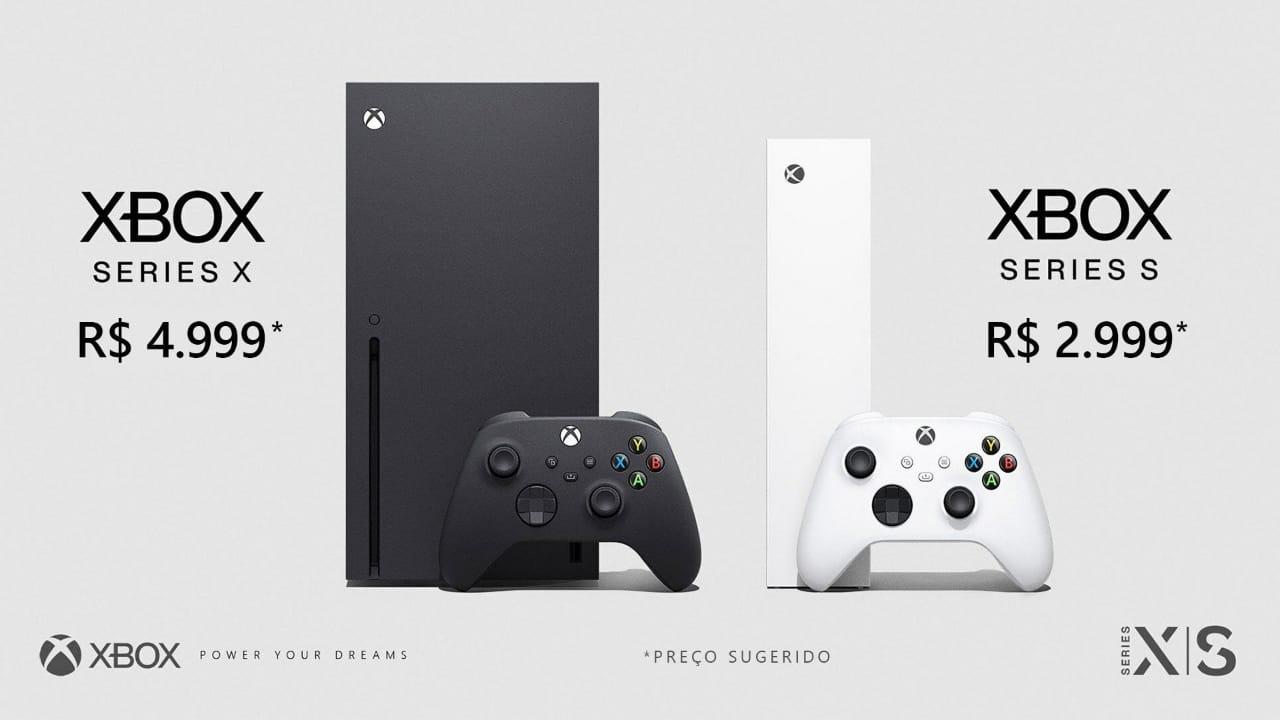 Preços do Xbox Series X e Xbox Series S no Brasil