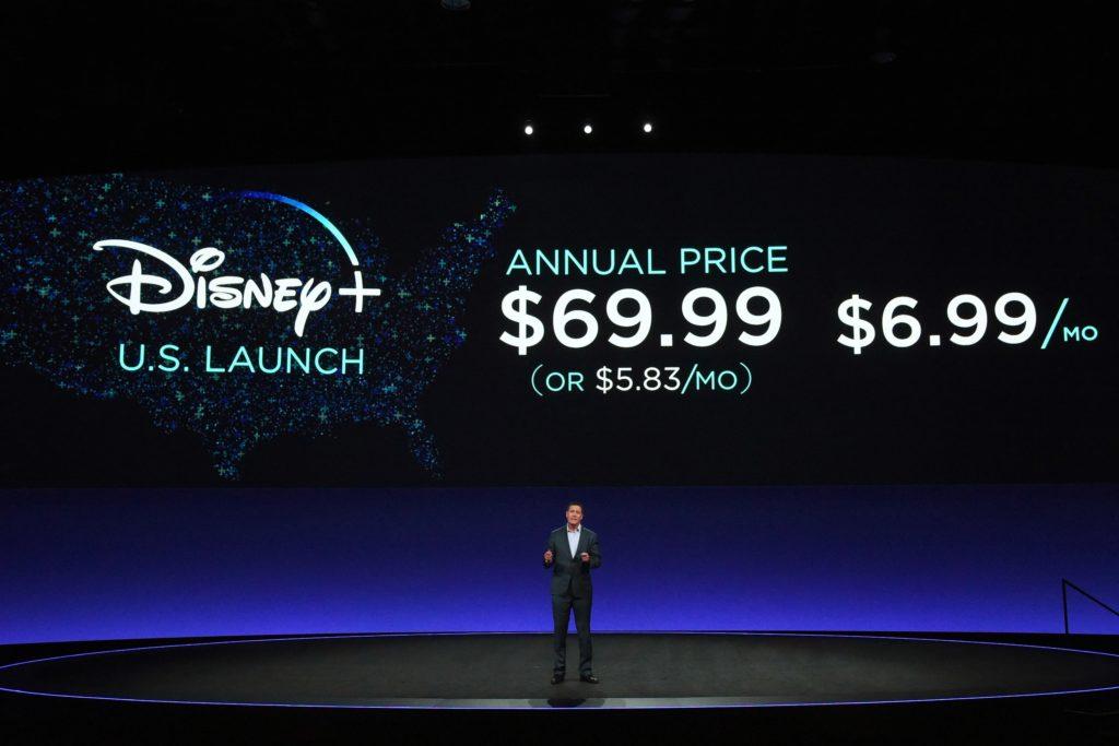 Disney+ preço nos EUA